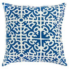 Malibu Indoor/Outdoor Pillow in Indigo (Set of 2)
