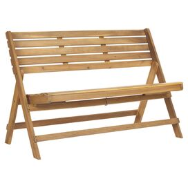 Luca Indoor/Outdoor Acacia Bench