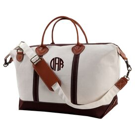 Personalized Weekender in Brown