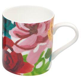 Painted Floral Mug