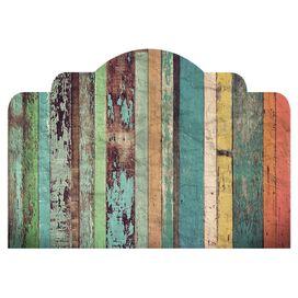 Rustic Headboard Wall Decal