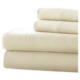 4-Piece Terrence Sheet Set in Ivory