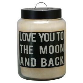 Moon & Back Candle