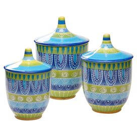 3-Piece Tapas Canister Set