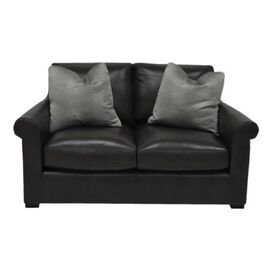 "Kiernan 64"" Leather Loveseat"