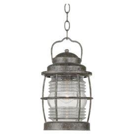 Beacon Patio Hanging Lantern in Brass Flint
