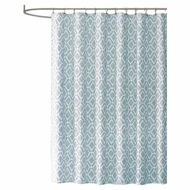 Penny Shower Curtain in Blue