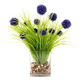 Faux Purple Allium