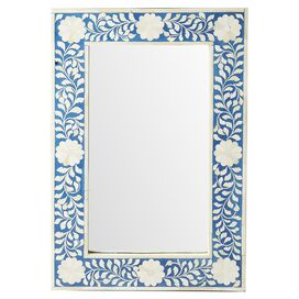 Olivia Bone Wall Mirror