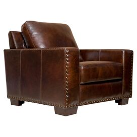 Bravo Leather Arm Chair