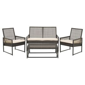 4-Piece Shawmut Seating Group Set in Brown