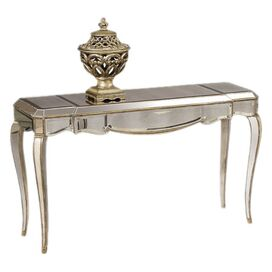 Collette Mirrored Console Table