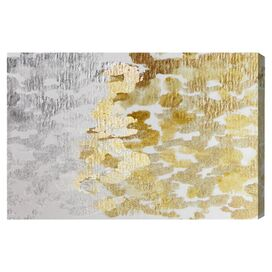 Gold vs. Platinum Canvas Print, Oliver Gal