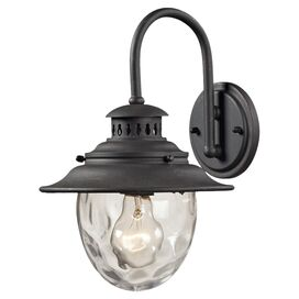 Amberly Wall Sconce in Weathered Charcoal