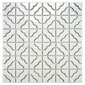 Bettie Porcelain Tile (Set of 10)