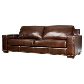 "Bravo 90"" Leather Sofa"