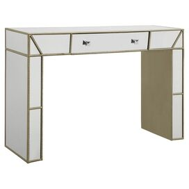 Miranda Mirrored Console Table