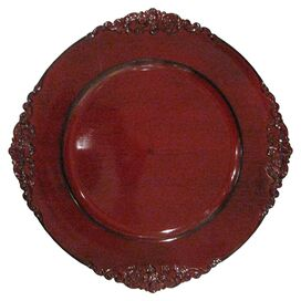 Dunhill Charger Plate in Red