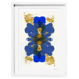 Cumbia Azul Framed Print, Oliver Gal