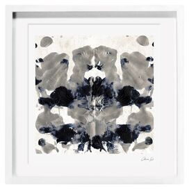 Energy in Silver Framed Print, Oliver Gal