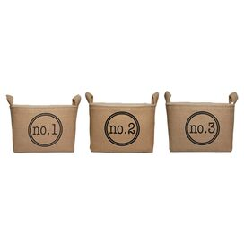 Petit Storage Bin (Set of 3)