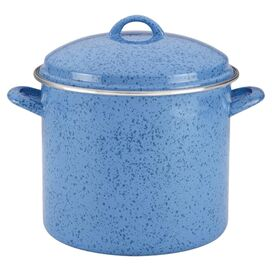 Signature 12-Quart Stockpot in Blueberry Speckle