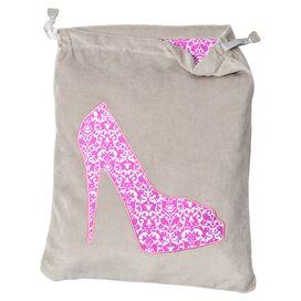 She She Shoe Bag Feather Gray