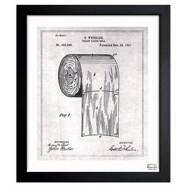 Paper Roll 1891 Framed Print, Oliver Gal