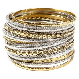18-Piece Madison Avenue Bangle Set