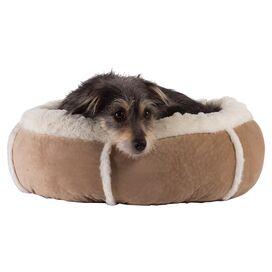 Bumper Pet Bed in Wheat
