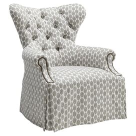 Lena Tufted Arm Chair