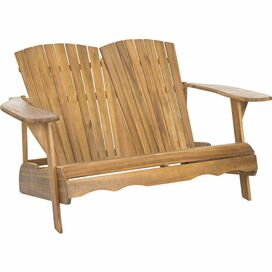 Mallory Acacia Garden Bench in Natural