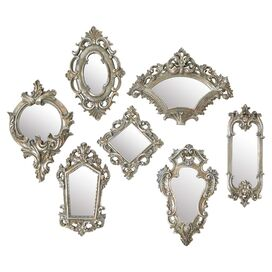 7-Piece Victoria Wall Mirror Set