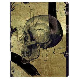 Calavera de Oro Dos Canvas Print, Oliver Gal