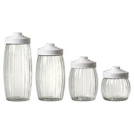 4-Piece Mykonos Jar Set