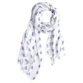 Sailboat Scarf
