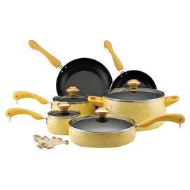 15-Piece Porcelain Cookware Set