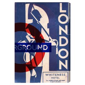 London Blues Canvas Print