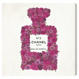 Number 5 Rose Canvas Print, Oliver Gal
