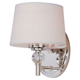 Caroline Wall Sconce in Silver