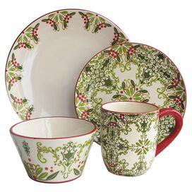 16-Piece Bagello Dinnerware Set
