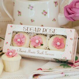 Sugar Rose Bath Fancy (Set of 3)