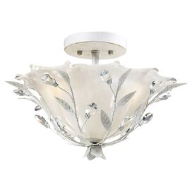 Wynn Crystal Semi-Flush Mount