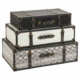 3-Piece Aberdeen Storage Trunk Set