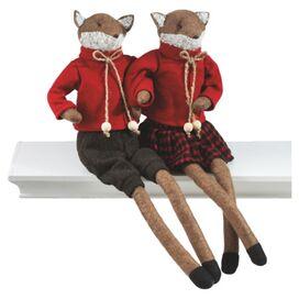 Friendly Fox Shelf Sitter Set