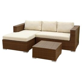 3-Piece Palermo Patio Seating Group Set
