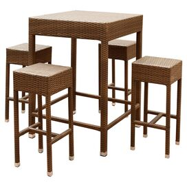 5-Piece Palermo Patio Pub Table Set