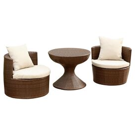 3-Piece Aurora Patio Seating Group