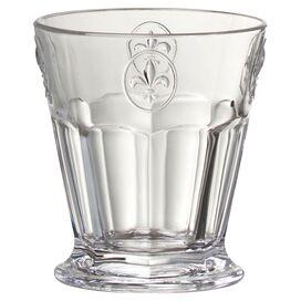 Fleur De Lis Double Old Fashioned Glass (Set of 6)