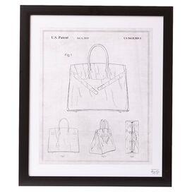 Birkin Handbag 2009 Framed Print, Oliver Gal